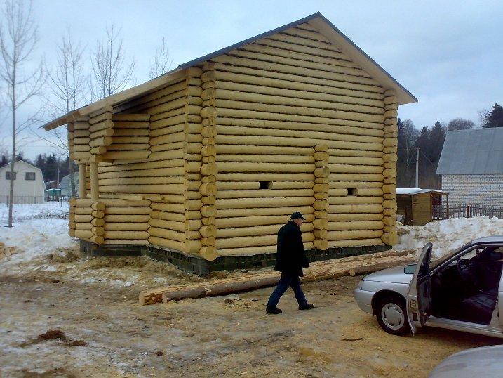 Баня дом срубы домов и бань кострома