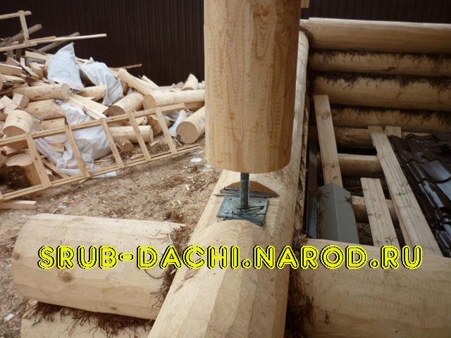 Деревянные дома из сруба строим дач