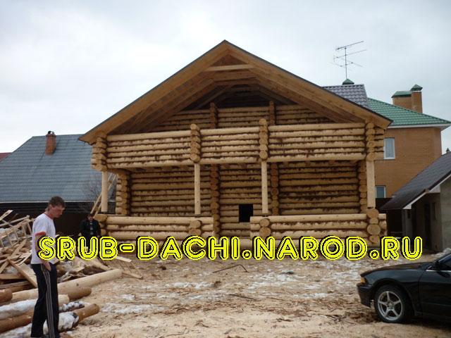 Строительство деревянных домов и бань из бруса и бревна от